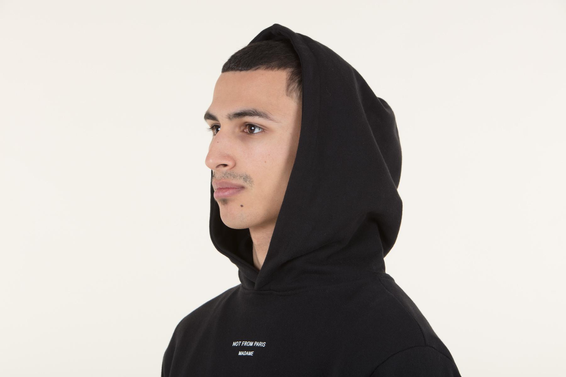 Drôle De Monsieur Hooded Jacket | Brown | | FW18 NFPM