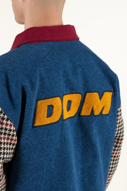 Denim DDM Varsity Jacket   Svean AS Nettbutikk